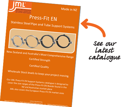 European Press Fit Pipe - Stainless Steel Fittings and Fasteners Munson Ring, Munzing Ring and Pipe Clamps